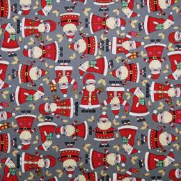 Tissu patchwork Santa