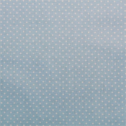 Tissu coton à pois Oeko-Tex Piselli