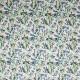Tissu coton imprimé mini jungle Vert