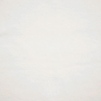 Tissu polaire coton Oeko-Tex Tina  Blanc