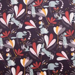 Tissu coton imprimé Oeko-Tex Lorena
