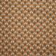 Tissu coton imprimé Oeko-Tex Papluma Ocre