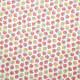 Tissu coton imprimé Galix Rose / Jaune
