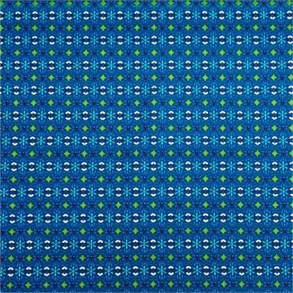 Tissu coton Maxina Bleu