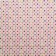 Tissu coton imprimé Sixties Rose
