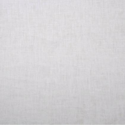 Tissu lin viscose uni Lény Blanc