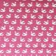 Tissu coton imprimé Swanny Rose