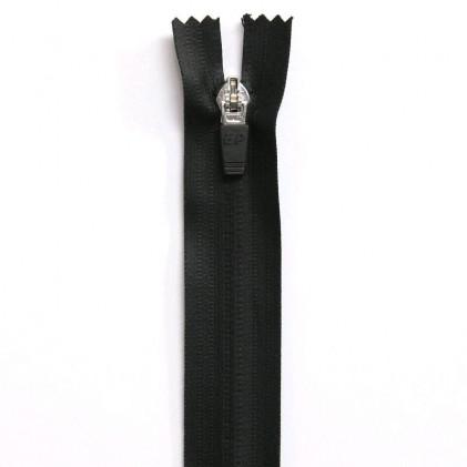 Fermeture Eclaire imperméable non séparable 20 cm Noir