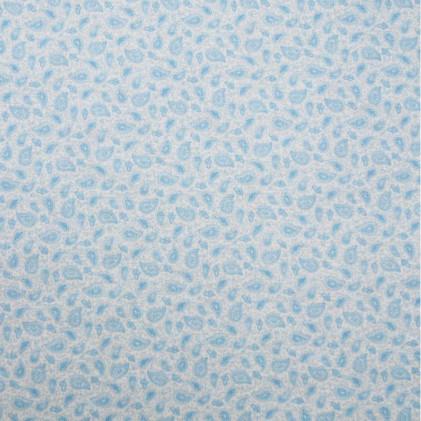 Tissu coton imprimé Bio Cachemire