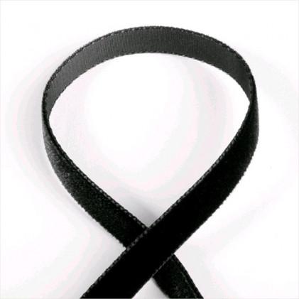 Ruban velours Noir