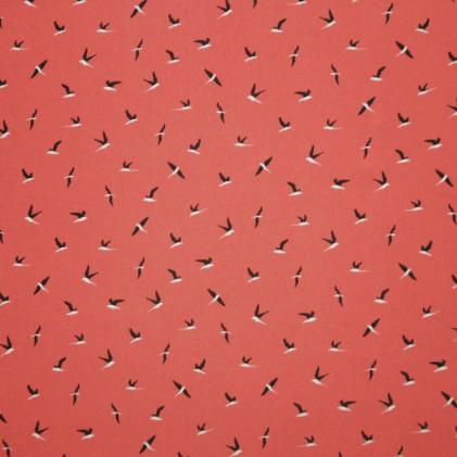 Tissu imprimé Birdini Rose