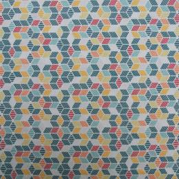 Tissu coton BIO Cuby
