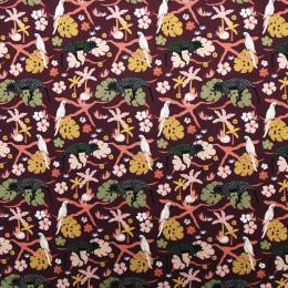 Tissu coton BIO Arapanthère