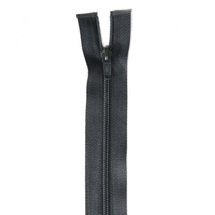 Fermeture Eclair non séparable laiton 18 cm Vert kaki foncé