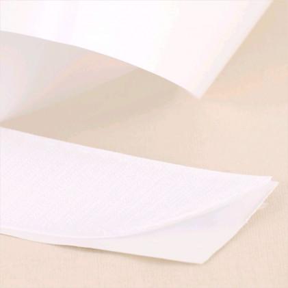 Crochet auto-agrippant adhésif 50 mm Blanc
