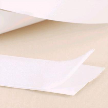 Velours auto-agrippant adhésif 50 mm Blanc