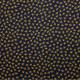 Tissu imprimé Pisselits Bleu marine / Doré