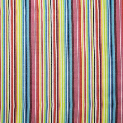 Tissu tissé Boho Multicolore
