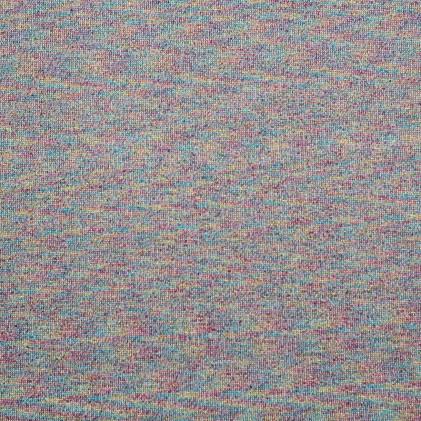 Tissu jersey lurex Sila Gris / Multicolore