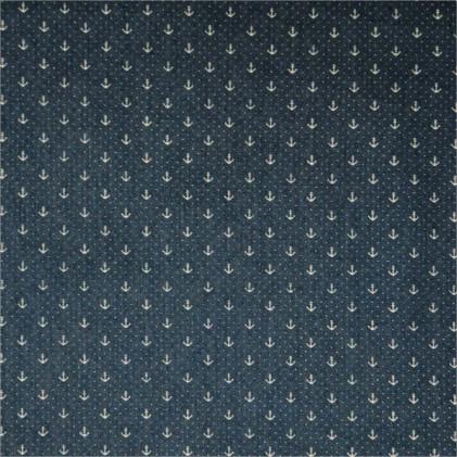 Tissu jean's Anchor Bleu