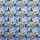 Tissu jersey Toucan Bleu