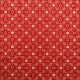 Tissu coton Noel Arabys Rouge
