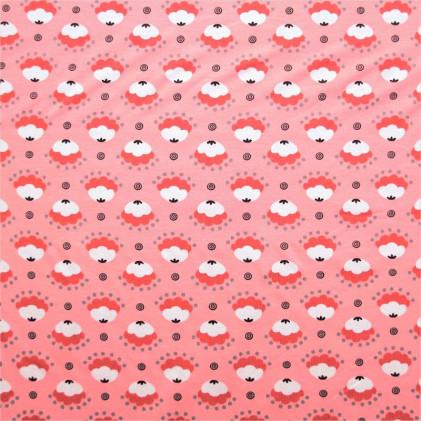 Tissu jersey Floravy Rose