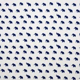 Tissu coton Oeko-Tex Eléphants