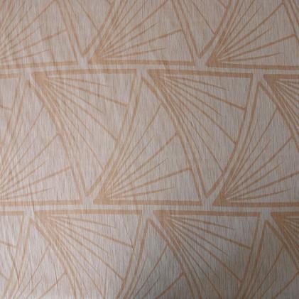 Tissu voilage plombé Cycas Naturel