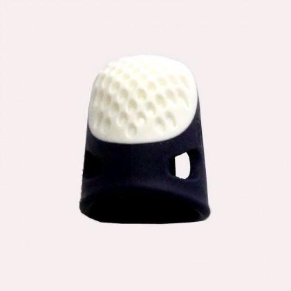 Dé à coudre ergonomique taille M Bleu marine / Blanc