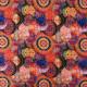 Tissu jersey de coton Mandalas