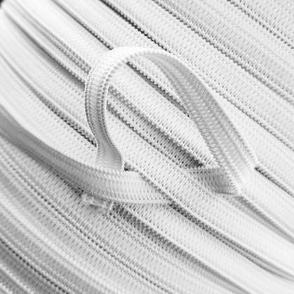 Elastique au mètre spécial masques 5 mm Blanc