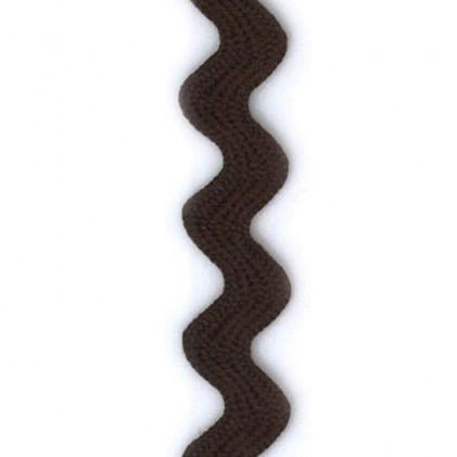 Ruban croquet Marron chocolat