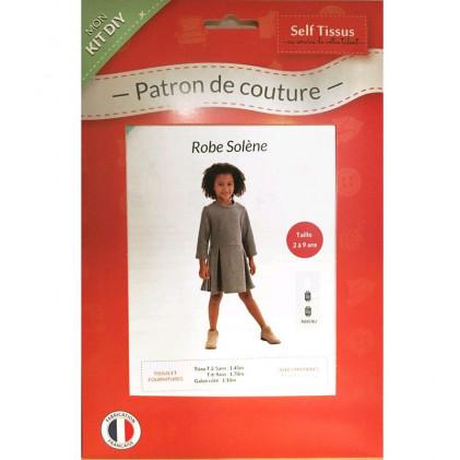 Patron PDF robe fillette Solène