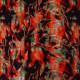 Tissu crêpe de viscose Tie and Dye