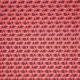Tissu polyester imprimé bouquet Rose