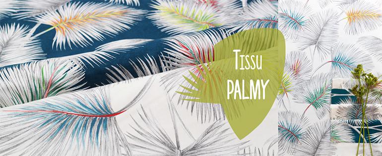 tissu Palmy